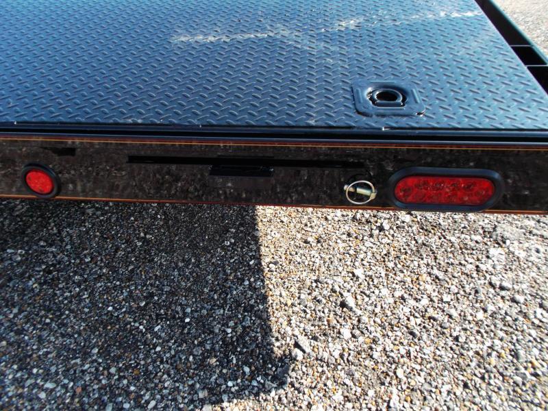 2019 Maxxd 83X20 10K Steel Deck Car Hauler / Racing Trailer / Powder Coated / Steel Deck / 5200# Axles / Dovetail