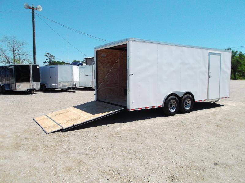 36 ft enclosed cargo trailer