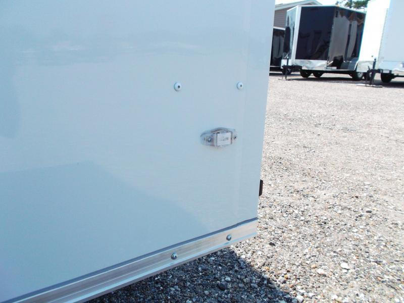 SPECIAL - 2019 Covered Wagon Trailers 7x14 Tandem Axle Cargo Trailer / Enclosed Trailer / Ramp / RV Side Door / LEDs