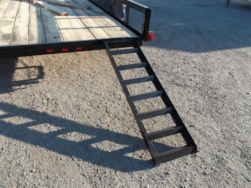 2019 Longhorn Trailers 14ft Utility Trailer / 5ft Slide Out Ramps