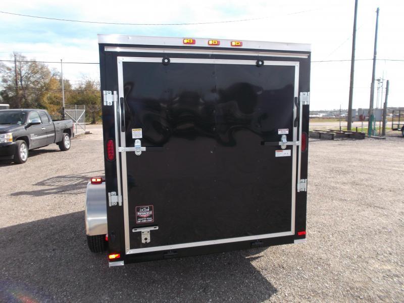 2017 Covered Wagon Trailers 6x10 Semi Low Hauler