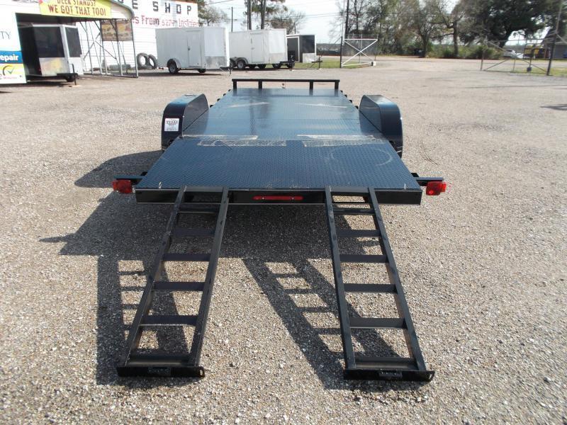 2019 Maxxd 83x20 Steel Deck Car Hauler / Racing Trailer / Powder Coated / 5ft Ramps / 4ft Dovetail