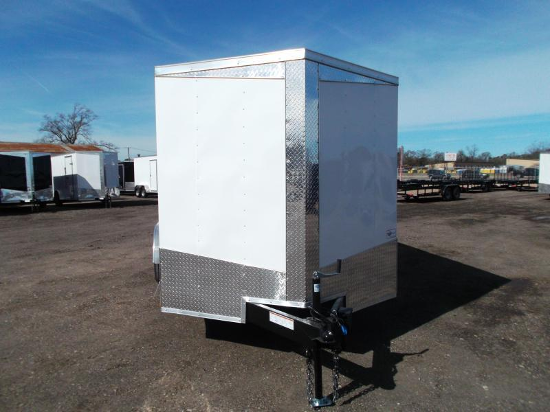 "2019 Lark 7x16 Tandem Axle Cargo Trailer / Enclosed Trailer / 6'6"" Interior Height / Barn Doors / LEDS / 5 YR WARRANTY"
