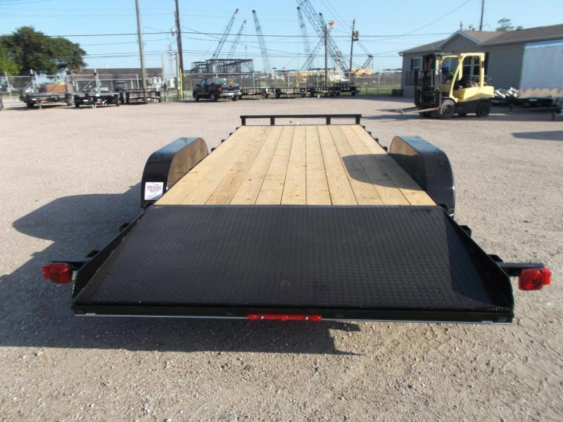2018 Maxxd 83x20 Car Hauler / Racing Trailer / 4ft Dovetail / Treated Wood / Powder Coated