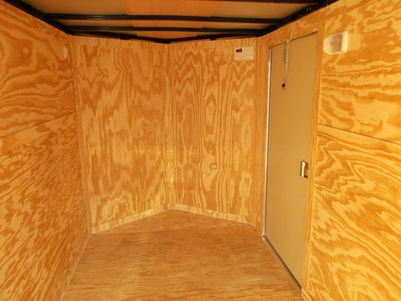 2018 Covered Wagon Trailers 6x12 Single Axle Cargo Trailer / Enclosed Trailer / Ramp / 6ft Interior Height / RV Side Door