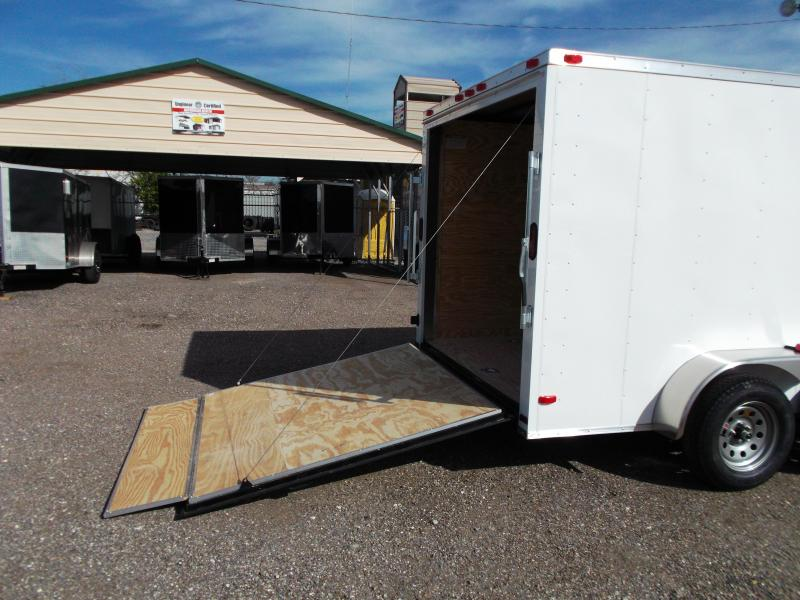 2017 Covered Wagon Trailers 7x14 Cargo / Enclosed Trailer