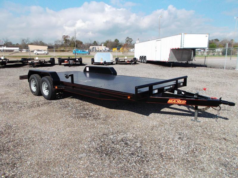2018 Maxxd 83X20 10K Steel Deck Car Hauler / Racing Trailer / Powder Coated / 5200# Axles / Dovetail