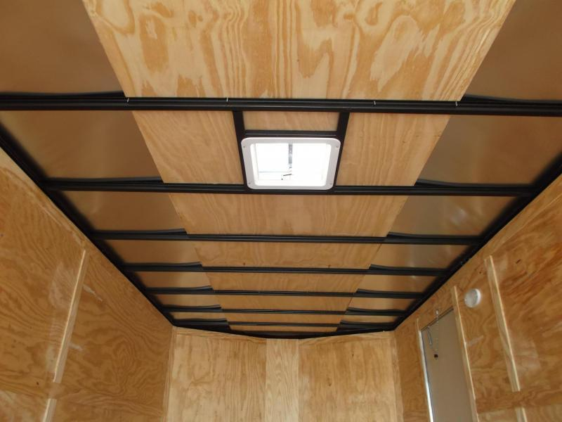 2019 Covered Wagon Trailers 8.5x20 Tandem Axle Cargo / Enclosed Trailer / 7ft Interior Height / 7000# Torsion Axles / Heavy Duty Ramp / LEDs