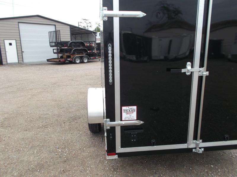 "2018 Lark 6x12 Single Axle Cargo Trailer / Enclosed Trailer w/ Barn Doors / 6'6"" Interior Height"