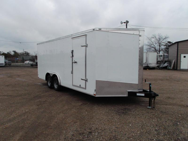 2018 Lark 8.5x20 Tandem Axle Cargo Trailer / Car Hauler w/ 5200# Axles / Ramp