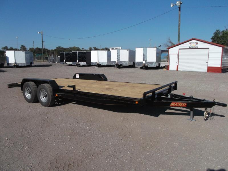 2018 Maxxd 83X20 10K Car Hauler / Racing Trailer / Flat Deck Rental Trailer