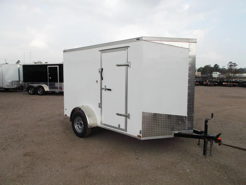 2019 Lark 6x10 Single Axle Cargo Trailer / Enclosed Trailer / Ramp / LEDs