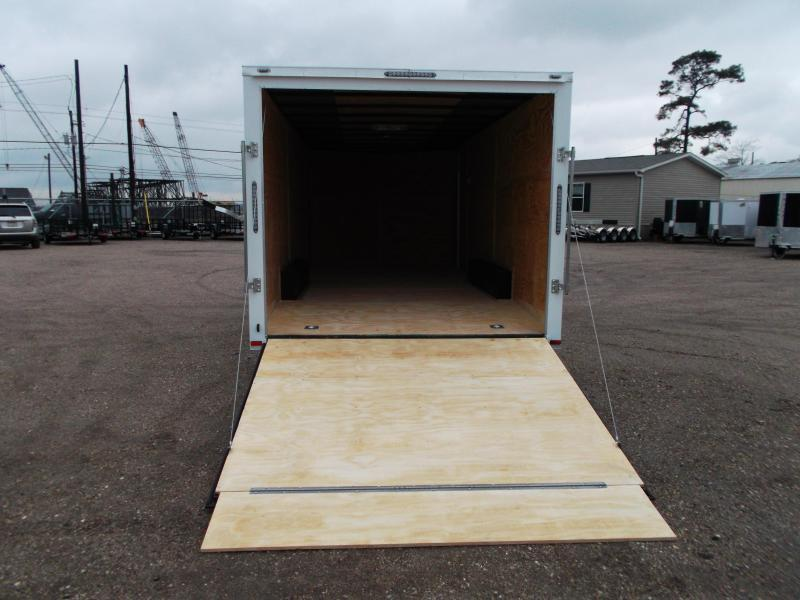 2018 Lark 8.5x20 Tandem Axle Cargo Trailer / Car Hauler / 5200# Axles / Ramp / LEDs
