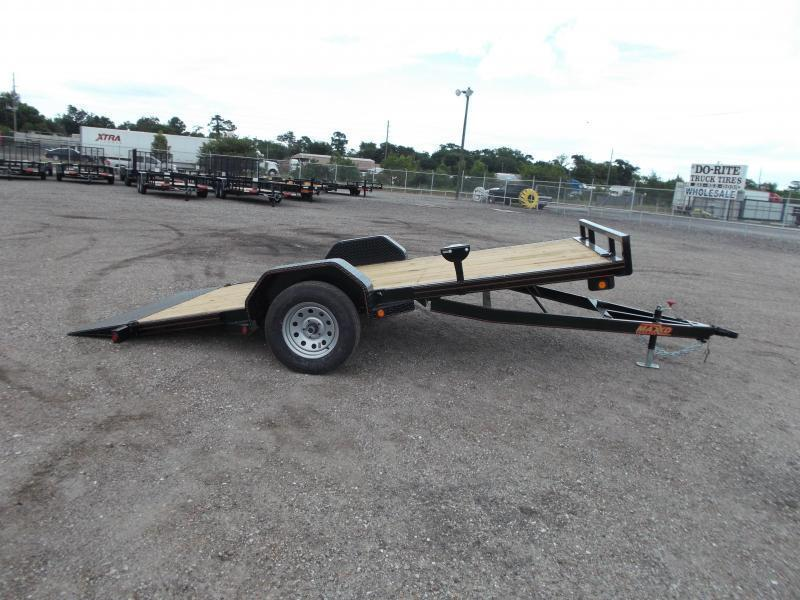 2019 Maxxd Trailers 14ft Gravity Tilt Side by Side Trailer / ATV Trailer / Powder Coated / LEDs