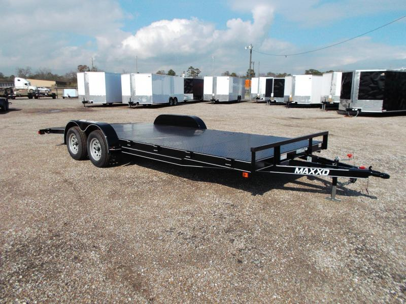 2017 Maxey 83x20 Steel Deck Car / Racing Trailer w/ 4ft Dovetail