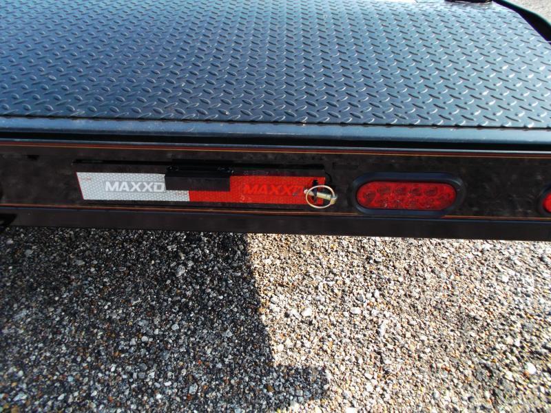 2019 Maxxd 102x24 14K Car Hauler / Flatbed Trailer / Equipment Hauler / Powder Coated / 7K Axles / Drive Over Fenders