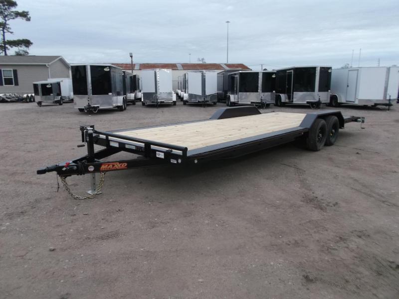 2019 Maxxd 102x24 10K Car Hauler / Flatbed Trailer / Equipment Hauler / Powder Coated / 5200# Axles / Drive Over Fenders