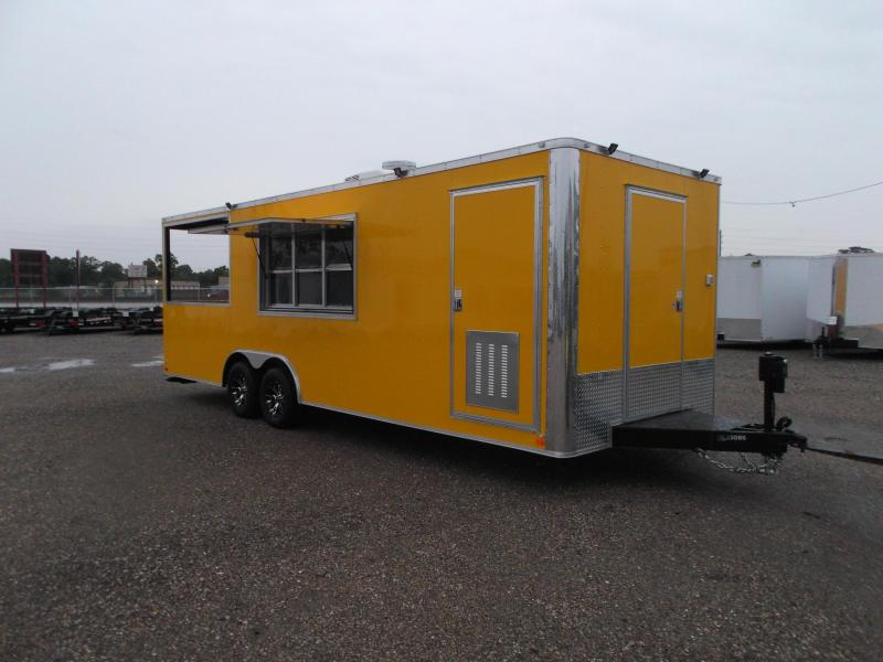 2017 Covered Wagon 8.5x24 bbq / concession trailer