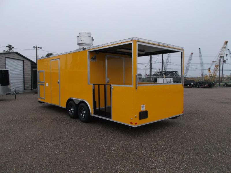 2018 Covered Wagon Trailers 8.5X24 BBQ Trailer / Concession Trailer / Vending Trailer