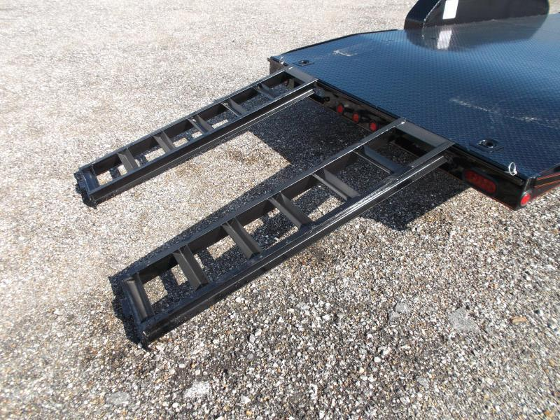 2018 Maxxd 83X20 10K Steel Deck Car Hauler / Racing Trailer / Powder Coated / 5200# Axles / Dovetail