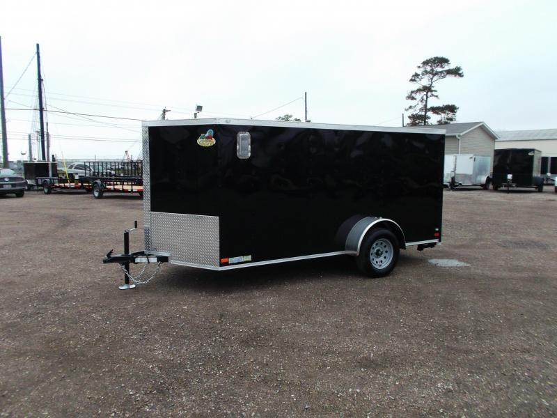 2018 Covered Wagon Trailers 6x12 Low Profile Motorcycle Trailer / Cargo Trailer