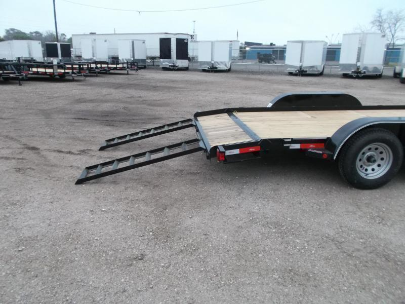 2018 Longhorn Trailers 18ft 7K Car Hauler Trailer / Race Car Trailer / 2ft Dovetail