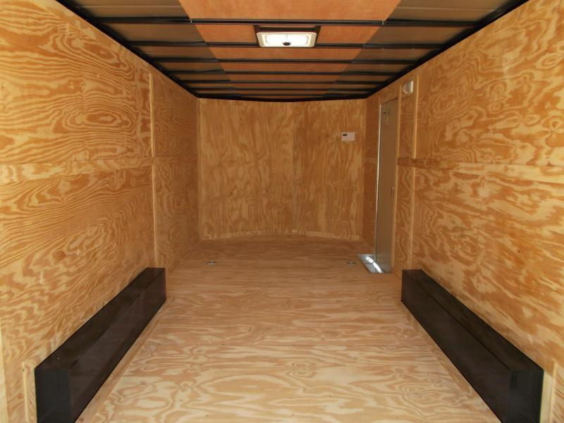 2018 Covered Wagon Trailers 8.5x20 Tandem Axle Cargo Trailer / Enclosed Trailer w/ 7ft Interior Height / Ramp