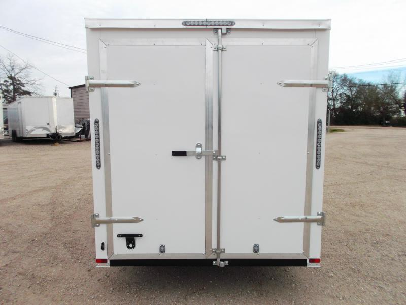 2019 Lark 6x12 Single Axle Cargo Trailer / Enclosed Trailer / Barn Doors / LEDs