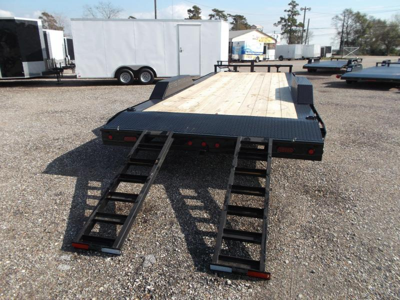 2018 Maxxd 102x24 10K Car Hauler / Racing Trailer / Flatbed Trailer / Drive Over Fenders / 5200# Axles / 2ft Dovetail