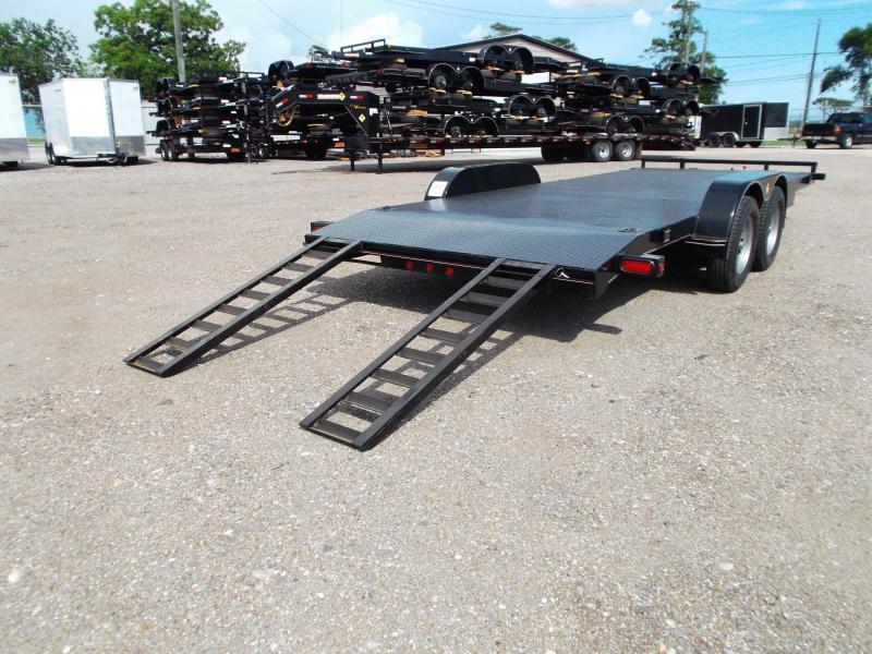 2018 Diamond T 83X20 10K Car Hauler / Racing Trailer / 5200# Axles / Dovetail / Treated Wood Deck / LEDs