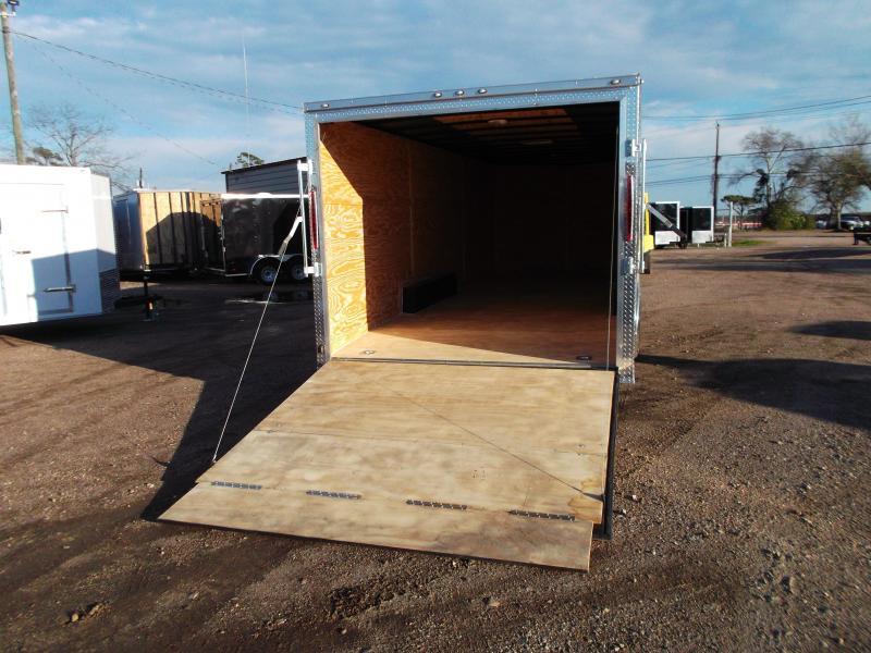 2019 TX Select 8.5x24 Tandem Axle Cargo Trailer / Enclosed Trailer / Car Hauler / 5200# Axles / Ramp / LEDs