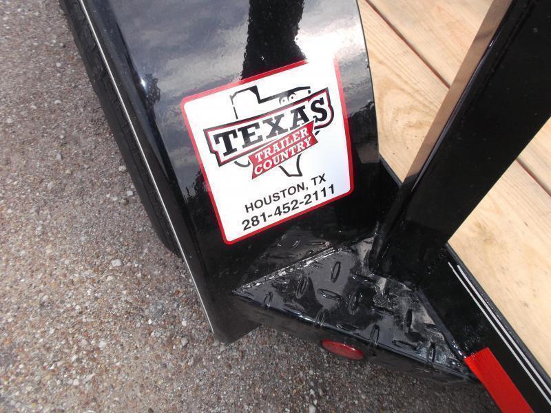 2018 Longhorn Trailers 83x20 Utility Trailer w/ 4ft Ramp Gate / Electric Brakes