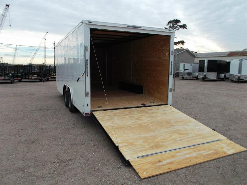 2018 Lark 8.5x20 Tandem Axle Cargo Trailer / Car Hauler / Ramp