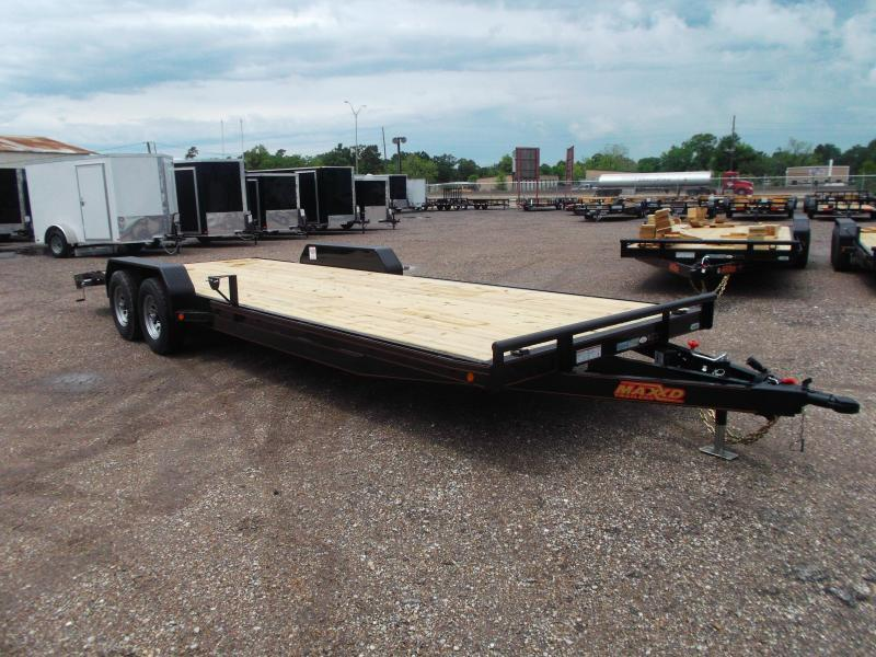 2017 Maxey 83X24 10K Car Hauler / Racing Trailer / Flatbed Trailer