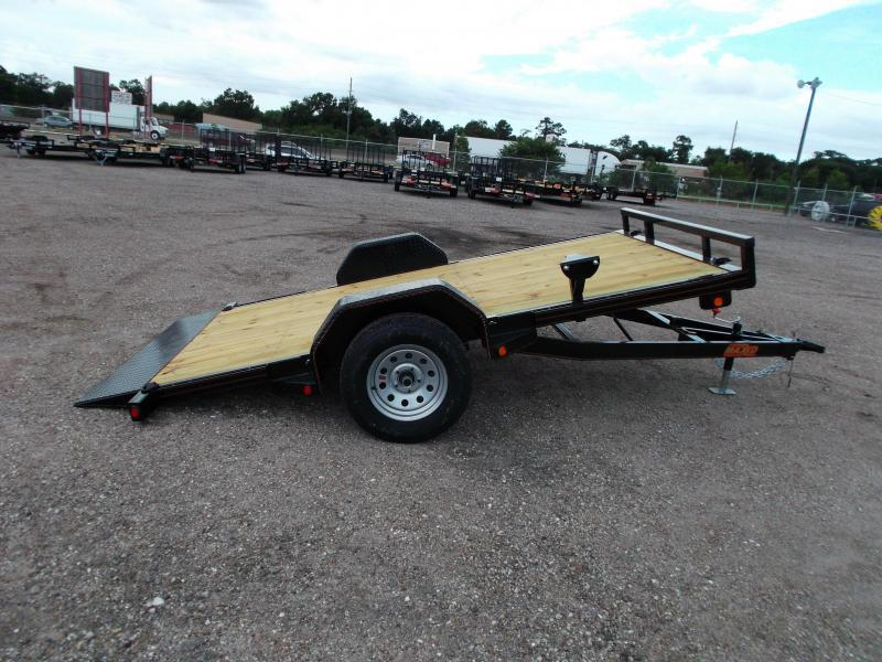 2018 Maxxd Trailers 12ft Gravity Tilt Side by Side Trailer / ATV Trailer / Powder Coated