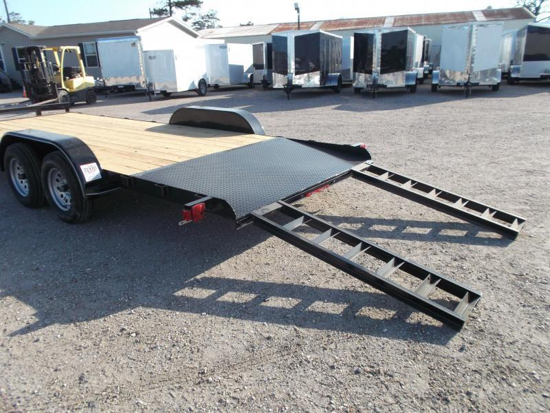2018 Maxxd 83x20 Car Hauler / Racing Trailer w/ 4ft Dovetail / Powder Coated