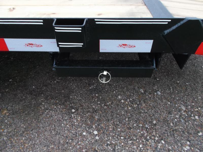 2018 Longhorn Trailers 20ft 7K Car Hauler / Racing Trailer / 2ft Dovetail / 5ft Ramps / Brakes
