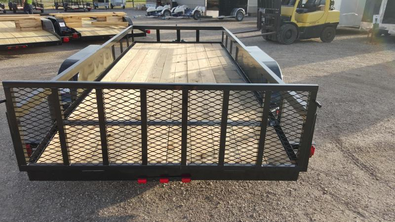 2018 Longhorn Trailers 14ft Utility Trailer w/ 2ft Dovetail / 2ft Ramp Gate