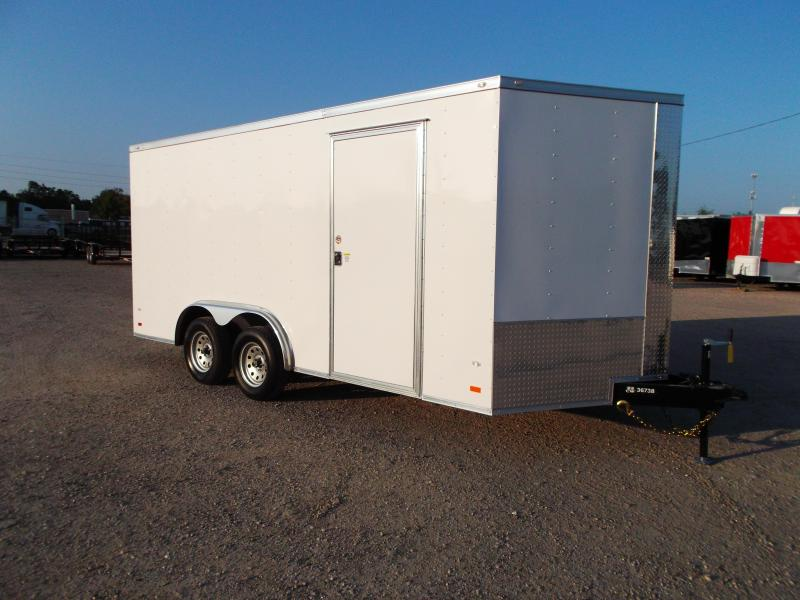 2018 Covered Wagon Trailers 8x16 Tandem Axle Cargo / Enclosed Trailer / Ramp