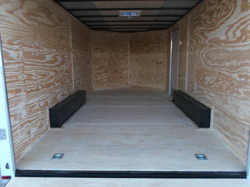 2018 Lark 8.5x16 Tandem Axle Lark Cargo Trailer / Car Hauler / Ramp