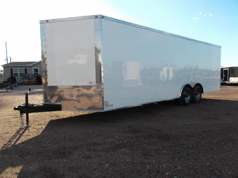 SPECIAL - 2019 TX Select 8.5x24 Tandem Axle Cargo Trailer / Enclosed Trailer / Car Hauler / 5200# Axles / Ramp / LEDs