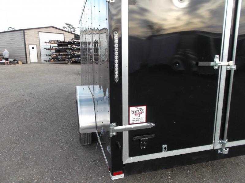 2018 Lark 7x16 Tandem Axle Cargo Trailer / Enclosed Trailer w/ Barn Doors
