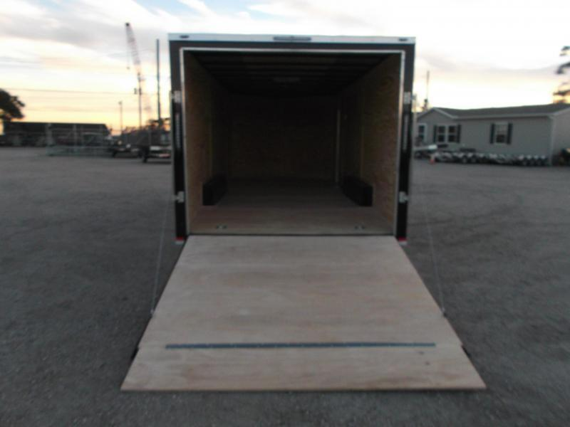 2018 Lark 8.5x20 Tandem Axle Cargo Trailer / Car Hauler w/ 5200# Axles