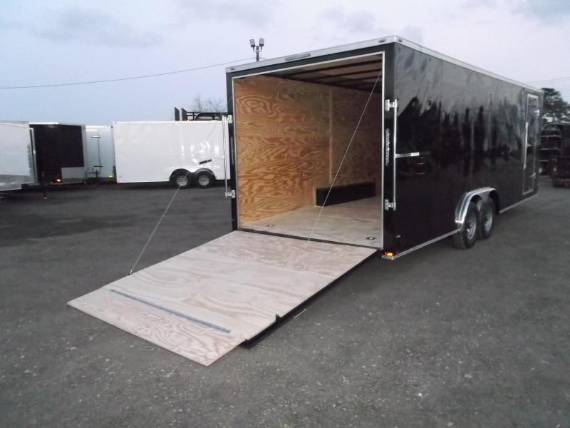 2019 Lark 8.5x24 Tandem Axle Cargo Trailer / Enclosed Trailer / Car Hauler / 5200# Axles / 7ft Interior / Ramp / LEDs
