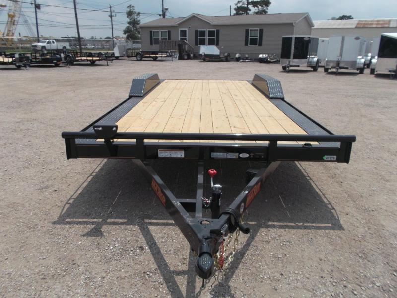 "2019 Maxxd 102""x20' 10K Car Hauler / Racing Trailer / Flatbed / Drive Over Fenders / 5200# Axles / Powder Coated / LEDs"