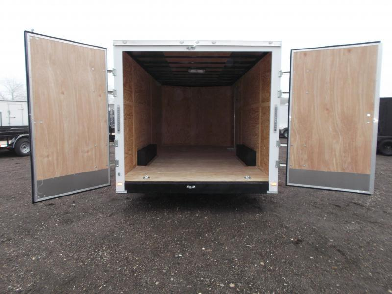 2018 Covered Wagon Trailers 8.5x20 Tandem Axle Cargo / Enclosed Trailer w/ Barn Doors / 7ft Interior Height / 5200# Axles