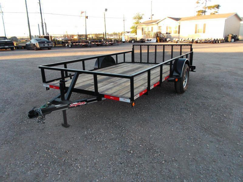 2018 Longhorn Trailers 77x12 Single Axle Utility Trailer w/ 2ft Dovetail / 2ft Ramp Gate