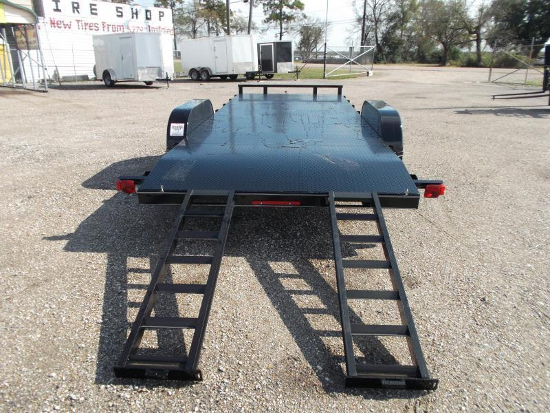 2019 Maxxd 83x18 Steel Deck Car Hauler / Racing Trailer / Powder Coated / 5ft Ramps / 2ft Dovetail