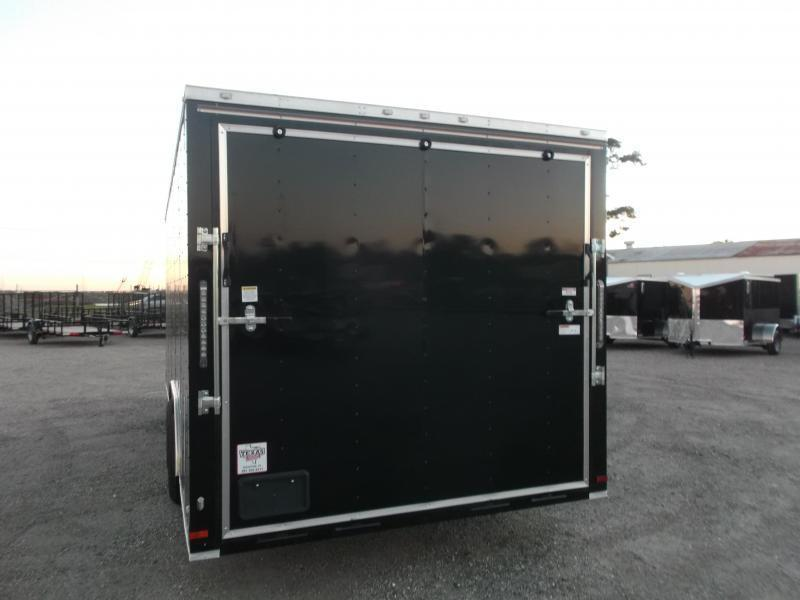SPECIAL - 2019 Covered Wagon Trailers 8.5x20 Tandem Axle Cargo / Enclosed Trailer / 5200# Axles / Ramp / RV Side Door / LEDs