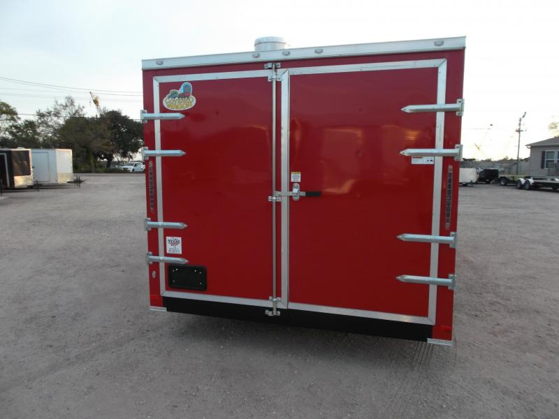 2018 Covered Wagon Trailers 8.5X20 BBQ Trailer / Concession Trailer / Vending Trailer / Loaded